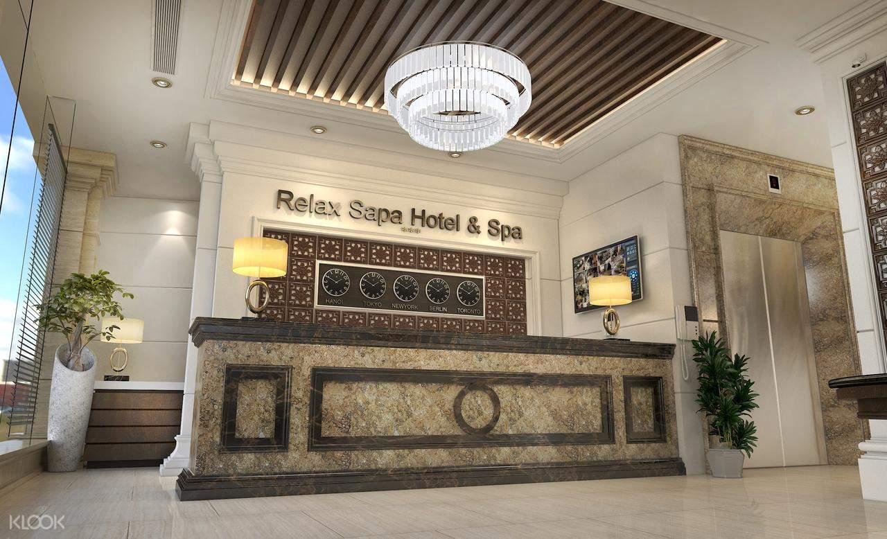 Sapa Relax Hotel & Spa Lobby
